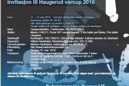 Trekningen til Haugerud vårcup 2016 20-22. mai er klar