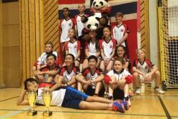 Haugeruds ungdom nær toppen i badminton lagspill