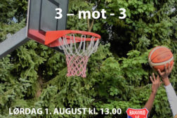 Basketturnering på Haugerud lørdag 1. august