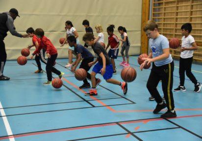 Basket-boom på Haugerud
